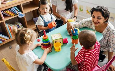 One Up, Two Down – Staying Connected with Children